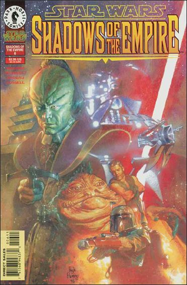 Star Wars: Shadows of the Empire 6-A by Dark Horse