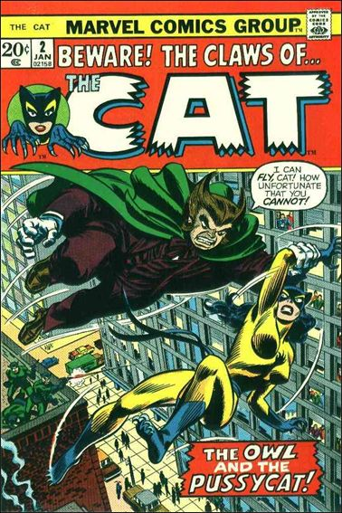 Cat (1972) 2-A by Marvel
