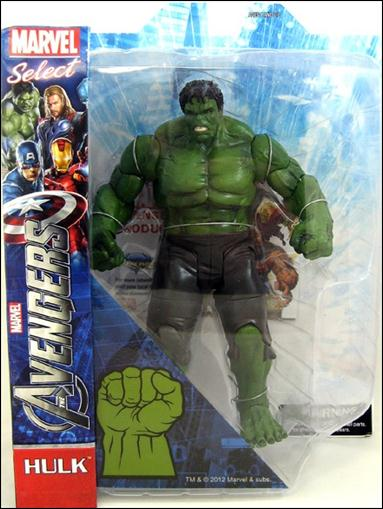 Marvel Select Avengers Movie Hulk by Diamond Select