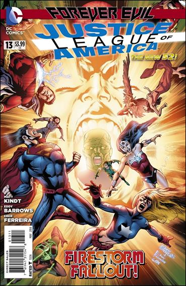 Justice League of America (2013)  13-A by DC