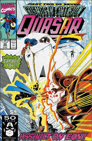 Quasar 20-A by Marvel