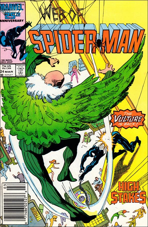 Web of Spider-Man (1985) 24-A by Marvel