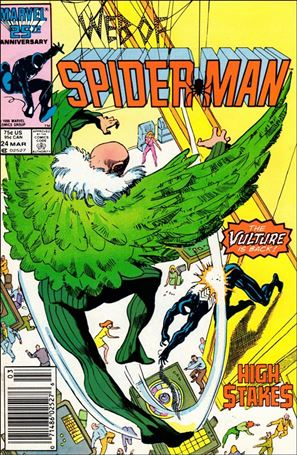 Web of Spider-Man (1985) 24-A