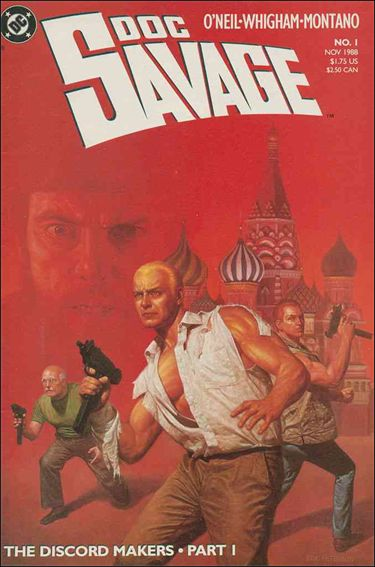 Doc Savage (1988) 1-A by DC