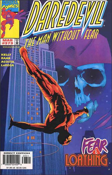 Daredevil (1964) 373-A by Marvel
