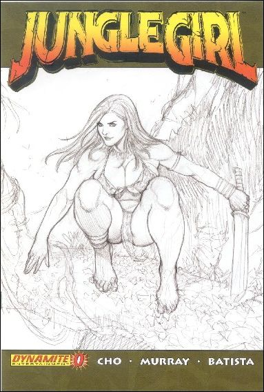 Jungle Girl (2007) 0-B by Dynamite Entertainment