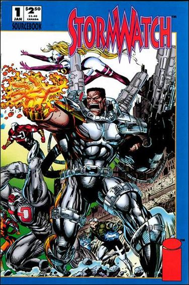 StormWatch Sourcebook 1-A by Image