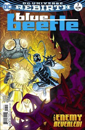 Blue Beetle (2016) 7-A