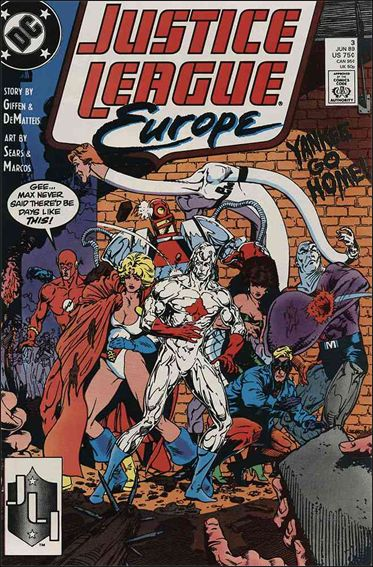 Justice League Europe 3-A by DC