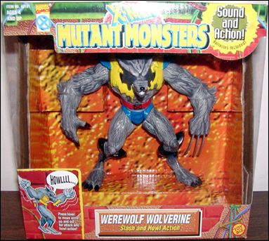 X-Men (Mutant Monsters) Werewolf Wolverine by Toy Biz