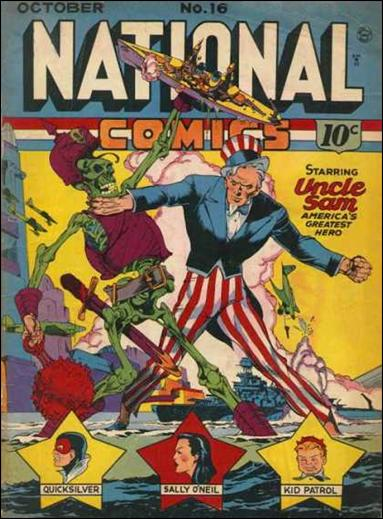 National Comics (1940) 16-A by Quality