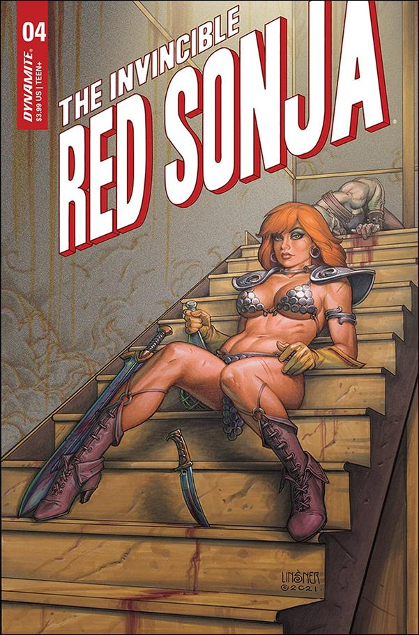 Invincible Red Sonja 4-B by Dynamite Entertainment