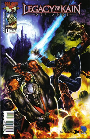 Legacy of Kain: Defiance 1-B by Top Cow