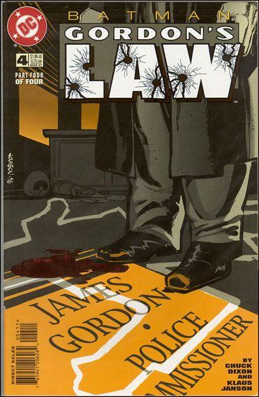 Batman: Gordon's Law 4-A by DC