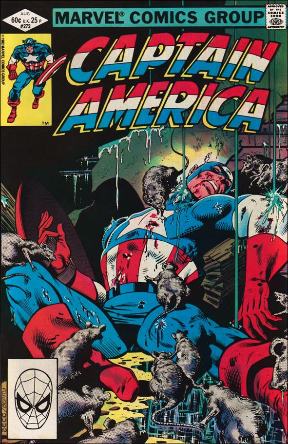 Captain America (1968) 272-A by Marvel