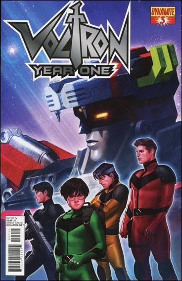 Voltron: Year One 3-A by Dynamite Entertainment
