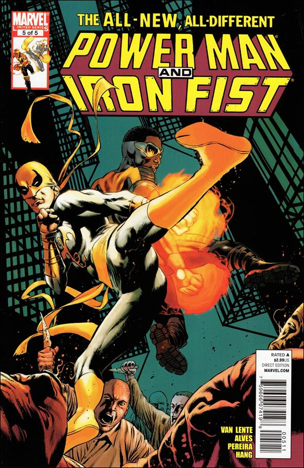 Power Man and Iron Fist (2011) 5-A by Marvel