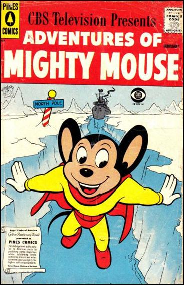 Adventures of Mighty Mouse (1956) nn 9-A by Pines