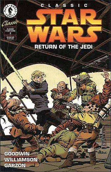 Classic Star Wars: Return of the Jedi 2-A by Dark Horse