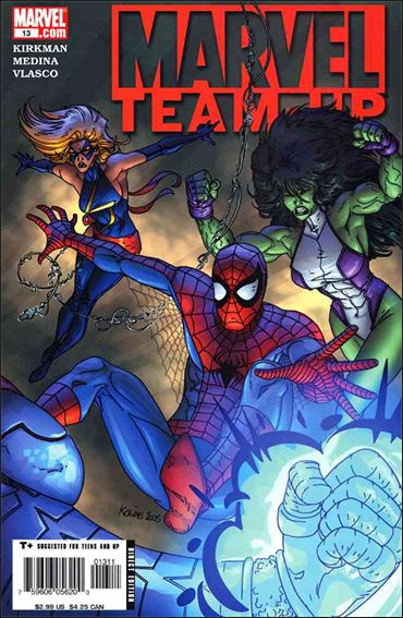 Marvel Team-Up (2005) 13-A by Marvel