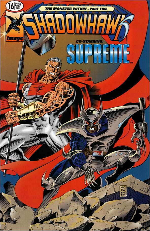 ShadowHawk (1992) 16-A by Image