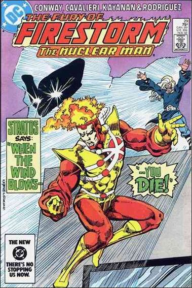 Fury of Firestorm 29-A by DC