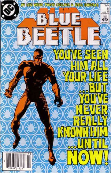 Blue Beetle (1986) 8-A by DC