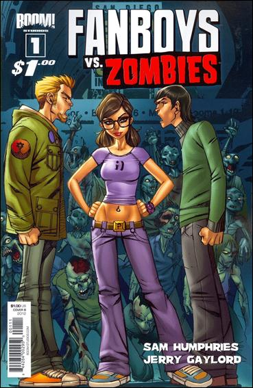 Fanboys vs. Zombies 1-B by Boom! Studios