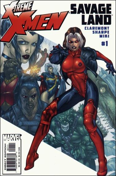 X-Treme X-Men: Savage Land 1-A by Marvel