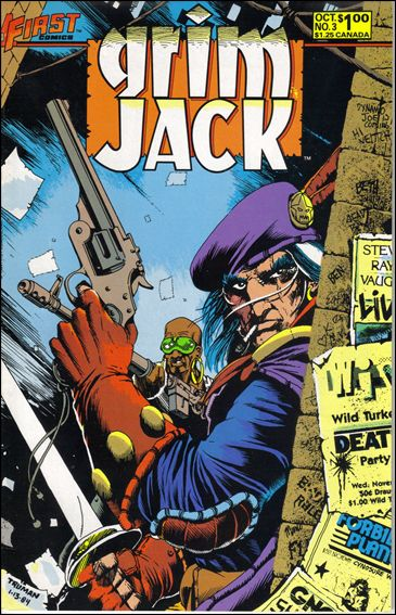Grimjack 3-A by First