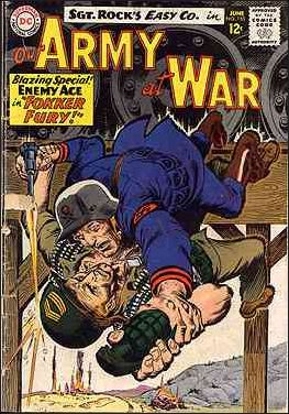 Our Army At War (1952) 155-A by DC