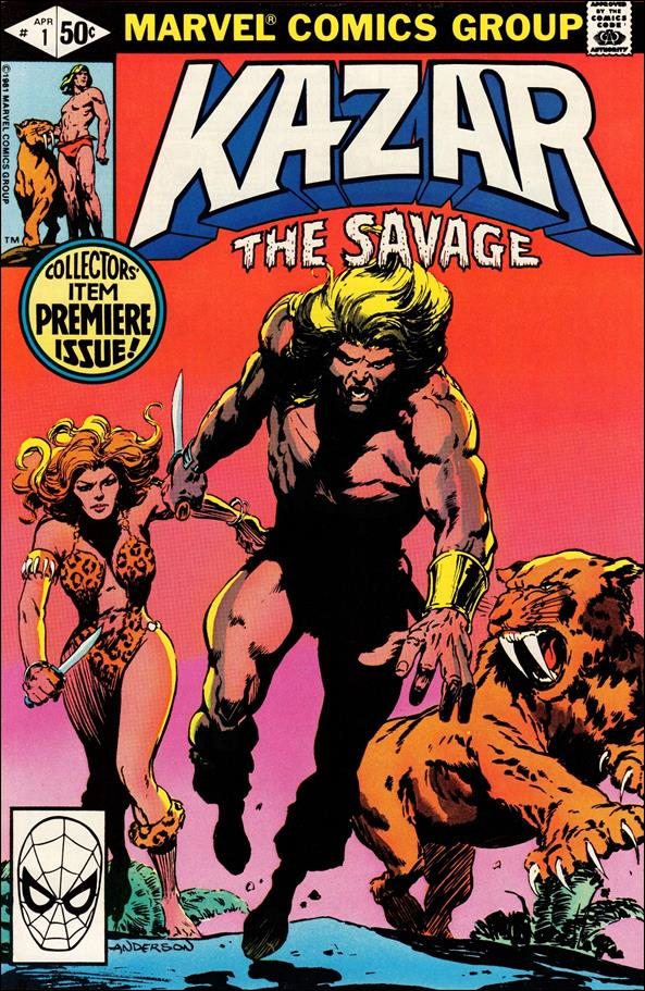 Ka-Zar the Savage 1-A by Marvel