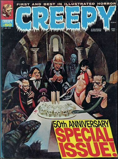 Creepy 50-A by Warren