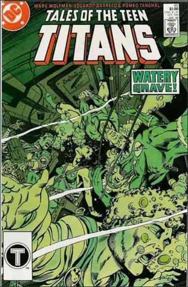 Tales of the Teen Titans 85-A by DC