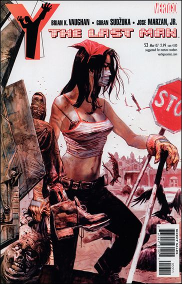 Y: The Last Man 53-A by Vertigo