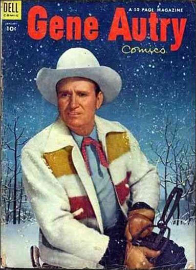 Gene Autry Comics (1946) 83-A by Dell