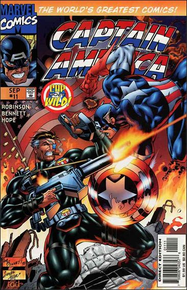 Captain America (1996) 11-A by Marvel