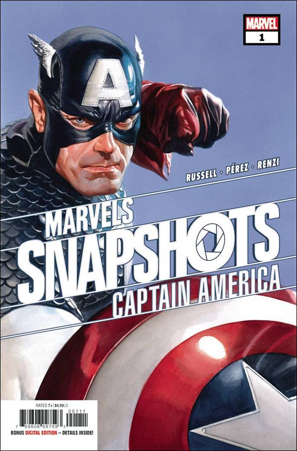 Captain America: Marvels Snapshots 1-A by Marvel