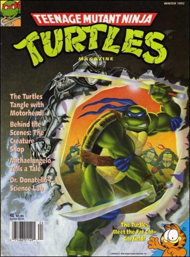 Teenage Mutant Ninja Turtles Magazine 10-A by Welsh Publishing Group