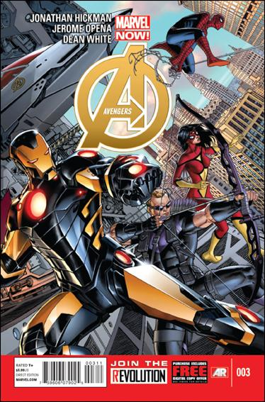 Avengers (2013) 3-A by Marvel