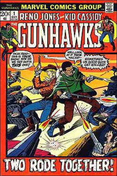 Gunhawks 1-A by Marvel