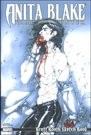 Anita Blake: Vampire Hunter Brett Booth Sketch Book 1-A by Dabel Brothers (DB) Productions