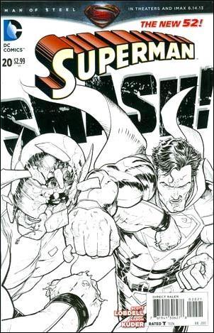 Superman (2011) 20-B by DC