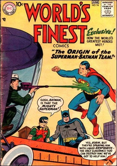 World's Finest Comics 94-A by DC