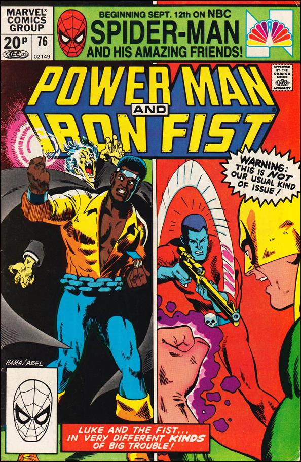 Power Man and Iron Fist (1978) 76-B by Marvel