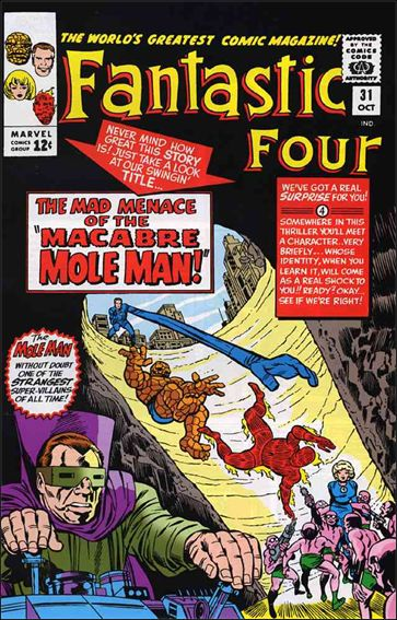 Fantastic Four (1961) 31-A by Marvel
