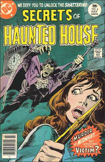 Secrets of Haunted House 6-A by DC