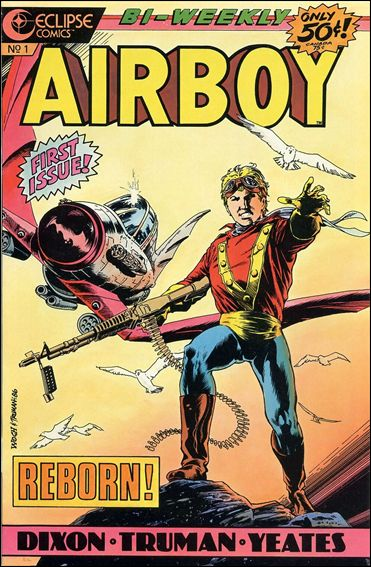 Airboy (1986) 1-A by Eclipse