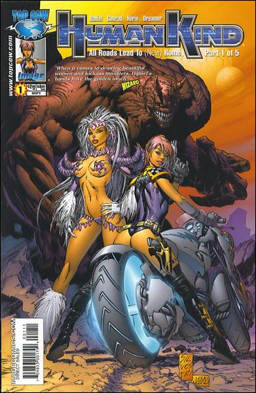 Humankind 1-B by Top Cow