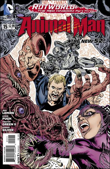 Animal Man (2011) 15-A by DC